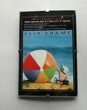 "Photo Picture Clip Frame 4"" x 5"" Glass and Board Pack Of 4 Frames OFFER"