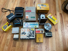 Huge Vintage Camera Lot. Banner Polaroid Kodak Etc