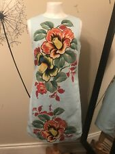 Warehouse Floral Tapestry Shift Dress Size 10