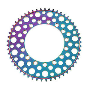 Strong Bike Chainring Ultralight 53~56T 130BCD Anti-Drop Chainwheel Bicycle