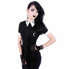 Gothic Party/Cocktail Short Sleeve Tops & Shirts for Women