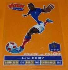 LOÏC REMY CARTE PITCH TEAM PASQUIER FOOTBALL EQUIPE FRANCE 2012 FFF PANINI