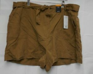 M&S Collection Natural Shorts size 24 NEW E14