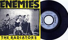 "Radiators From Space - Enemies 7"" GERMANY 1977 PRESS Ireland Punk Chevron Pogues"