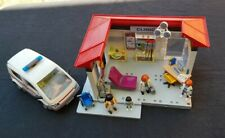 PLAYMOBIL 5012 HOSPITAL CLINIC AND AMBULANCE.