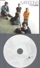 CD--PROMO--MAROON 5 --THIS LOVE