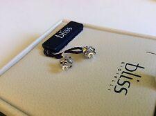 Bliss by Damiani 'Marylin' 18K White Gold Diamond Earrings 20027647