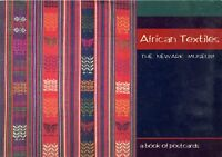 AFRICAN TEXTILES - The Newark Museum - a book of postcards