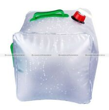 20L 5.3 Gallon Camping Water Carrier Container Collapsible