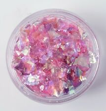 ICE MYLAR 2G NAIL ART CRACKED GLITTER FOR ACRYLIC AND GEL - Purple/Pink