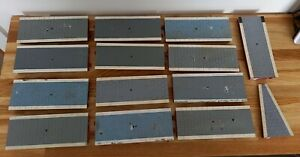 Hornby Skaledale Straight & Ramp Double Sided Platform Sections x14