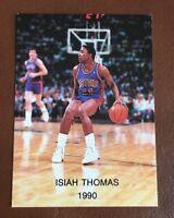1989-90 Isiah Thomas Oddball Wasatch #14. Rare Detroit Pistons Card