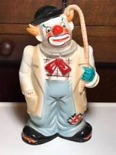 Vintage Ceramic CLown Coin Bank Made in Japan