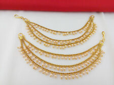 Indian Bollywood Ear chain for Earring Ethnic Gold Plated Traditional