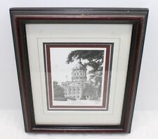 John Stoeckley Signed Print Jesse Hall University Of Missouri Framed Print #3