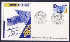 enveloppe 1er jour nf   journée du timbre  Paris    ; 1990