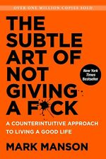 Books, The Subtle Art of Not Giving a F*ck by Mark Manson