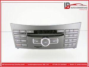 MERCEDES-BENZ E-KLASSE W212 Navigationssystem CD-Radio Mediaeinheit A2129008716