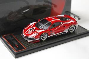 1:43 BBR Ferrari 488 Challenge 2020 Rosso Corsa 322 red - Limited 188 pcs.