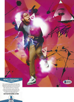 KID CUDI SIGNED 8x10 PHOTO BECKETT COA MAN ON THE MOON ALBUM KIDS SEE GHOSTS BAS