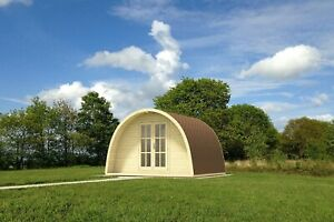 Camping POD 4 x 5 m / 44 mm walls/ FREE DELIVERY*
