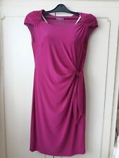 Planet ruched dress size 14 pink