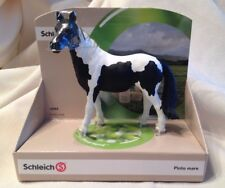 SCHLEICH HORSE PINTO MARE 13795 MODEL RETIRED Western EQUINE NEW W DISPLAY
