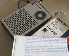 NATIONAL PANASONIC ® R-1045 AM PORTABLE TRANSISTOR RADIO – MINT – BOX