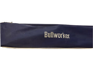 ❤️VINTAGE BULLWORKER ISOMETRIC ISOTONIC EXERCISE TRAINER & CARRY CASE