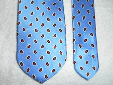 SOLEMARE MAUS & HOFFMAN IRIDESCENT THICK SILK TIE HAND SEWN SUPER FROM ITALY!