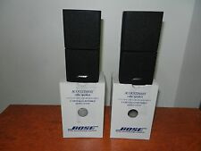 """BOSE LIFESTYLE DOUBLE CUBE SPEAKERS x2 in Top Condition """"Genuine Bose Made"""""""