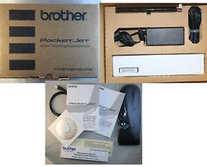 Brother PJ622-K PocketJet 6 Mobile Portable Thermal Printer 100% Complete In Box