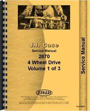 Case 2870 Tractor Service Manual