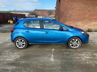 2018 Vauxhall corsa blue 1.4, only 11K mls, driveaway, light damaged salvage