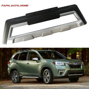 Frond Bumper Plate Mouldings Fit For Subaru Forester 2019 2020 Trim Scuff