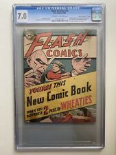 Flash Comics #nn CGC 7.0, Wheaties Promo Giveaway (DC 1946) Very Rare!
