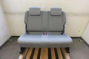 VW Caddy 2K 03-10 Sitzbank 3. Reihe Kunstleder grau Maxi Doppelsitz Gestell