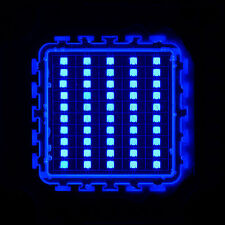 50W Watt 45mil Chips Blue High Power LED Panel 450nm 460nm 800-1000LM Aquarium