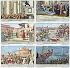 Chromo Liebig Sang. 1698 ITA Storia d'Italia XII ANNO 1958