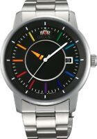 ORIENT Watch Standard STYLISH AND SMART DISK Rainbow WV0761ER Men's