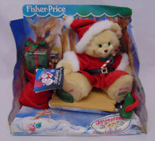 NEW Fisher Price Christmas Briarberry Collection Berrykins Berrykris Sleigh 1999