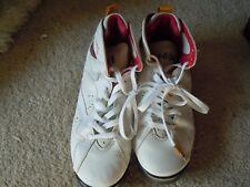 Nike Air Jordan VII 7 Retro White Cardinal Red Bronze Gold OG 304775 104 Sz 7Y