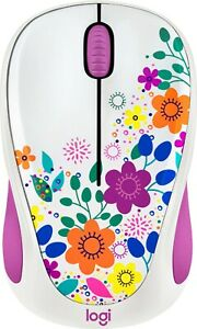 Logitech - Design Collection Wireless Optical Mouse Spring Meadow 910-005839 NEW