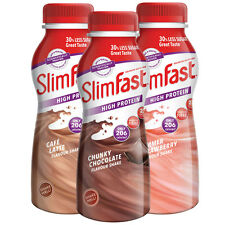 SlimFast Mixed Meal Replacement Shakes, 18 X 325ml