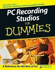 PC Recording Studios For Dummies by Strong, Jeff