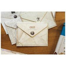 12pc Paper vintage Envelope for Retro Air Mail Greeting Letter Envelope