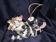 BlueSky Clayworks Cat Ornament 11�x6.6�x5� 2000