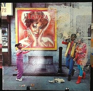 ARETHA FRANKLIN Who's Zoomin' Who? Album Released 1985 Vinyl Collection USA