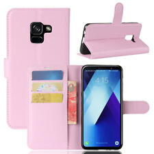 Fits Samsung Galaxy A5 2017 & A8 2018 Pouch Flip Cover Wallet Leather Phone Case