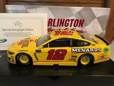Autographed 2019 Action Ryan Blaney #12 Darlington 1/24 1 of 84